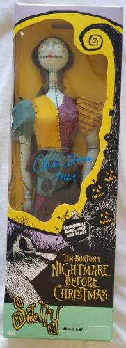 Catherine O'Hara Signed 1993 Hasbro The Nightmare Before Christmas Sally Fig COA