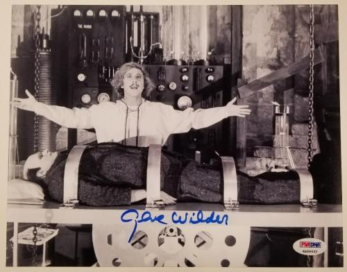 Entertainment Memorabilia Professional Sale Gildna Radner & Gene Wilder Signed Program Coa Jsa