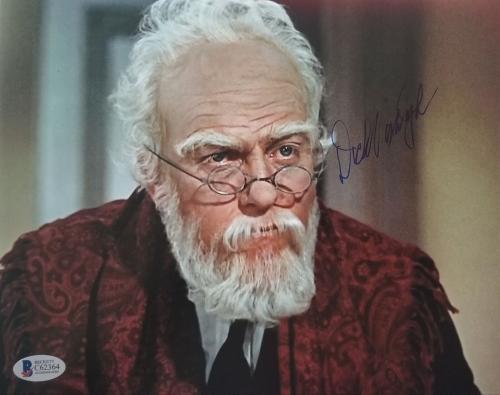 DICK VAN DYKE DISNEY'S MARY POPPINS Signed 8x10 Photo Beckett BAS COA AUTO J