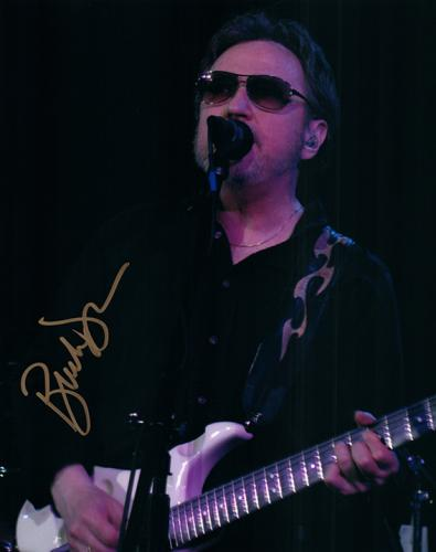 Blue Oyster Cult Buck Dharma Live Autographed Photo With Sunglasses
