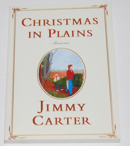 JIMMY CARTER signed (CHRISTMAS IN PLAINS) paperback book *PRESIDENT* W/COA