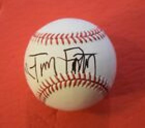 Tom Petty Signed Autographed Rawlings MLB Baseball Flawless Full Signature COA