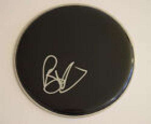 "Brad Wilk Signed Autograph 10"" Drumhead RAGE AGAINST THE MACHINE AUDIOSLAVE COA"