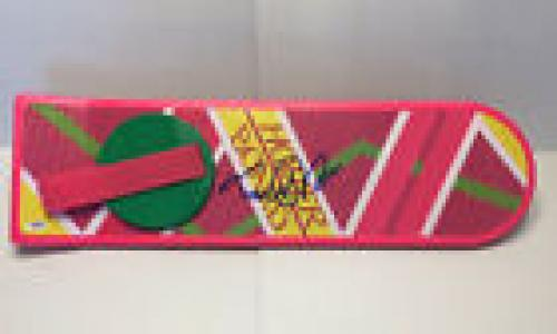 Michael J Fox Signed Autographed Hoverboard Back To The Future Bttf Psa/dna Loa