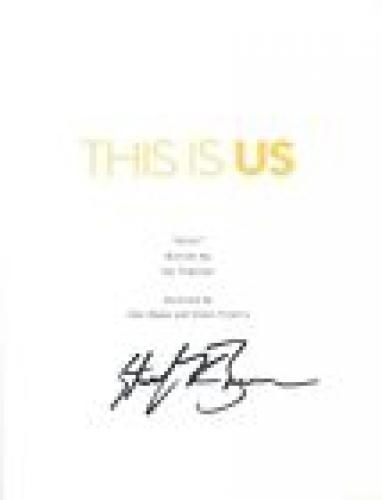 Sterling K Brown Signed Autographed THIS IS US Full Pilot Episode Script COA
