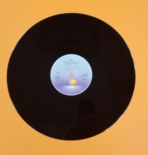 """U2 12"""" German Single """"(pride) In The Name Of Love"""" Mint Unplayed Vinyl 1984 Rare"""