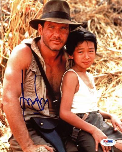 Harrison Ford Indiana Jones & The Temple Of Doom Signed 8x10 Photo PSA #U59374
