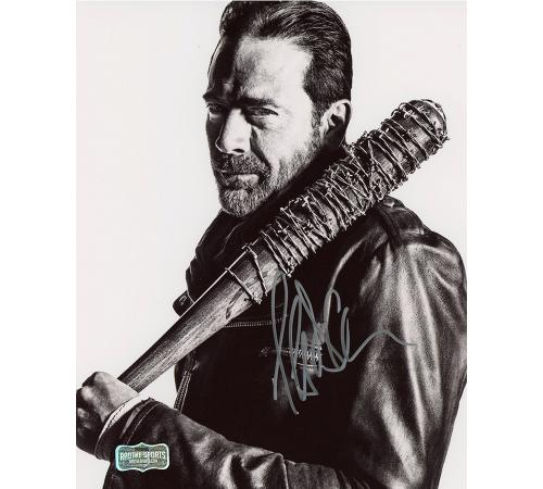 Jeffrey Dean Morgan Signed The Walking Dead 8×10 Photo – Brown Bat
