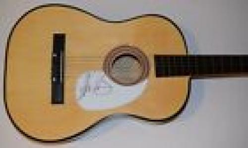 Jeff Skunk Baxter Signed Acoustic Guitar THE DOOBIE BROTHERS STEELY DAN COA R