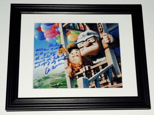 Ed Asner Autographed 8x10 Color Photo (framed & Matted) - Disney's Up!
