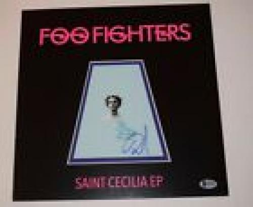 Dave Grohl Signed Autographed FOO FIGHTERS Saint Cecilia Ep Record Album BAS COA