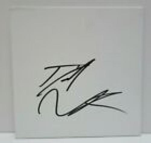 Daniel Radcliffe  Harry Potter Signed 8x8 Sketchboard Beckett Certified #1