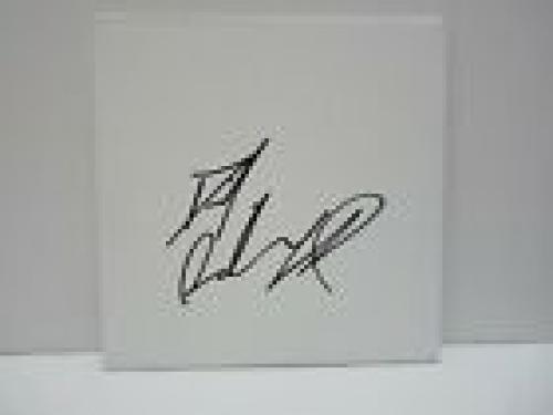Daniel Radcliffe  Harry Potter Signed 8x8 Sketchboard Beckett Certified #2