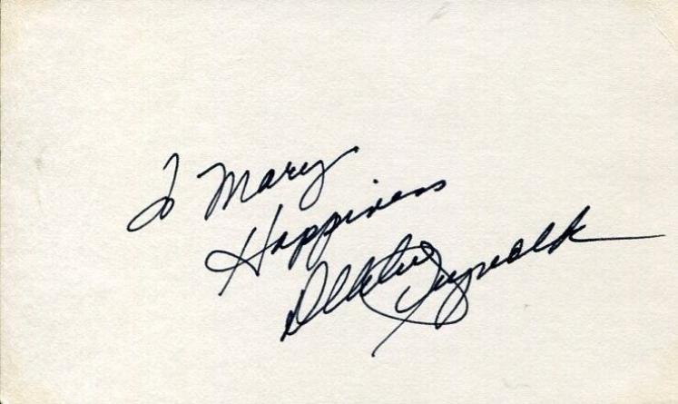 Debbie Reynolds Singin' In The Rain Charlotte's Web Oscar Nom Signed Autograph