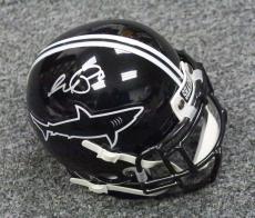 31449 Al Pacino Signed Any Given Sunday Sharks Mini Helmet ITP AUTO PSA/DNA COA