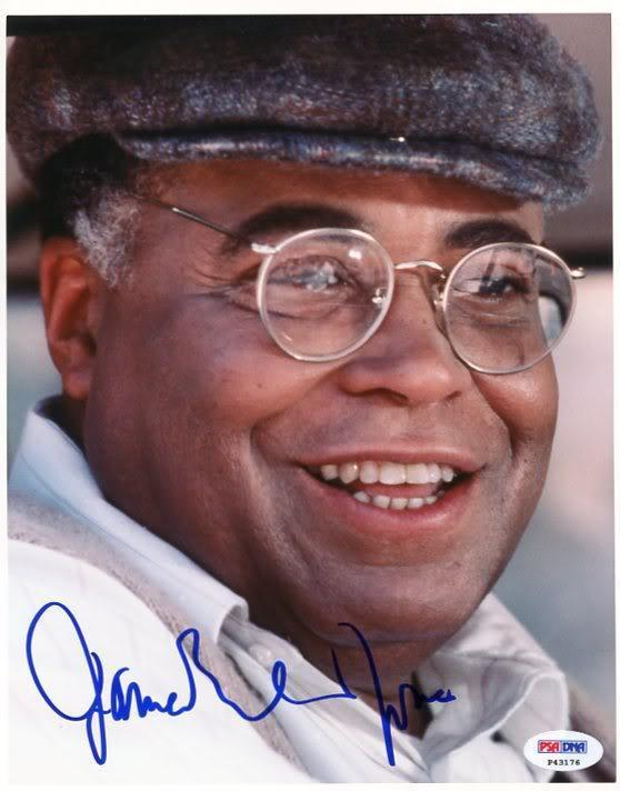 Autographed Earl Jones Photograph - James Field Of Dreams 8x10 Psa dna #p43176