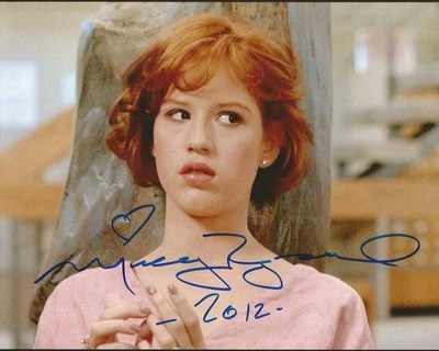 "MOLLY RINGWALD ""The Breakfast Club"" SIGNED AUTOGRAPHED 8X10 C"