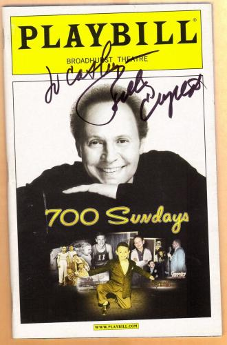 Billy Crystal-signed Playbill-27 aaa