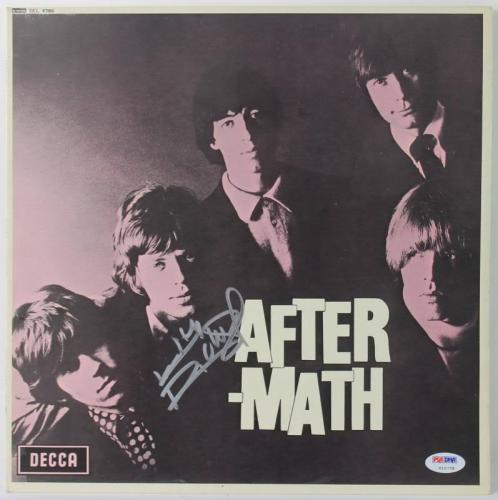 Keith Richards Rolling Stones After-Math Signed Album Cover PSA/DNA #V10778