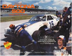 "Canvas 36"" x 48"" 21st Annual 1979 Daytona 500 Program Print - Mounted Memories"