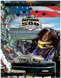 "Canvas 36"" x 48"" 46th Annual 2004 Daytona 500 Program Print - Mounted Memories"