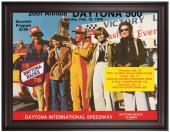 "Framed 36"" x 48"" 20th Annual 1978 Daytona 500 Program Print - Mounted Memories"