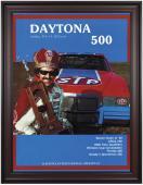 "Framed 36"" x 48"" 24th Annual 1982 Daytona 500 Program Print"