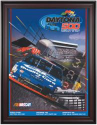 "Framed 36"" x 48"" 39th Annual 1997 Daytona 500 Program Print"