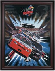 "Framed 36"" x 48"" 42nd Annual 2000 Daytona 500 Program Print - Mounted Memories"