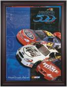 """Framed 36"""" x 48"""" 43rd Annual 2001 Daytona 500 Program Print"""