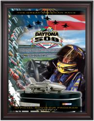 "Framed 36"" x 48"" 46th Annual 2004 Daytona 500 Program Print - Mounted Memories"