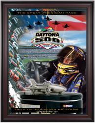 "Framed 36"" x 48"" 46th Annual 2004 Daytona 500 Program Print"