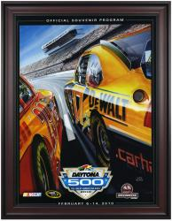 "Framed 36"" x 48"" 52nd Annual 2010 Daytona 500 Program Print - Mounted Memories"