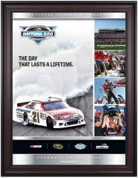 "Framed 36"" x 48"" 54th Annual 2012 Daytona 500 Program Print - Mounted Memories"
