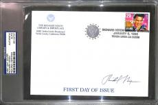 37 President Richard Nixon Signed First Day of Issue Cover PSA/DNA COA Autograph