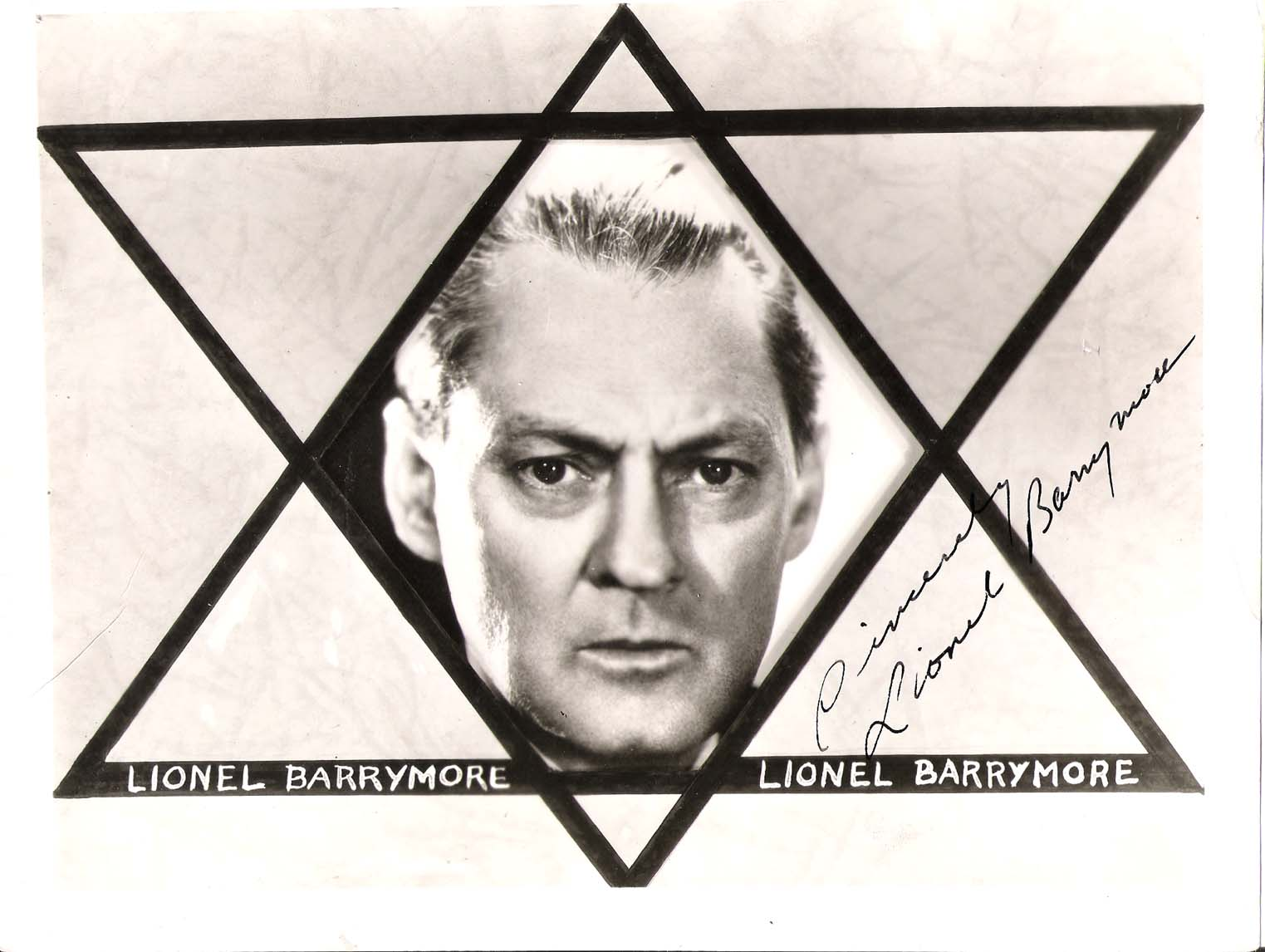 Lionel Barrymore Actor Of Stage Screen And Radio He Was Mr Potter In It 39 S A Wonderful Life