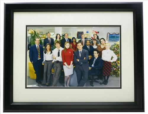 The Office Framed 8x10 Cast Holiday Party Group Photo