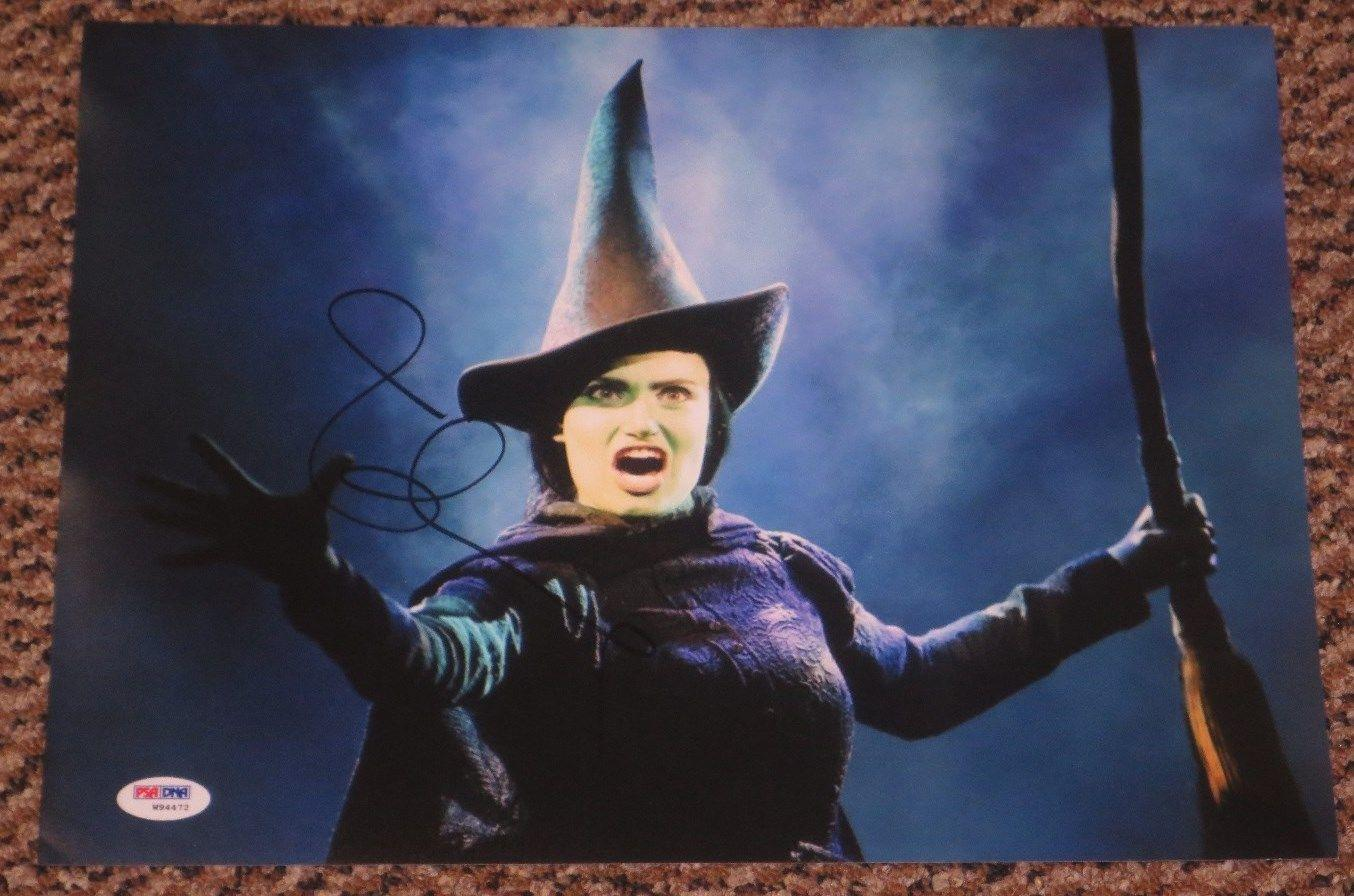 Idina Menzel Signed 11x14 Photo Frozen Elsa Wicked Autograph Psa/dna W94472 Coa