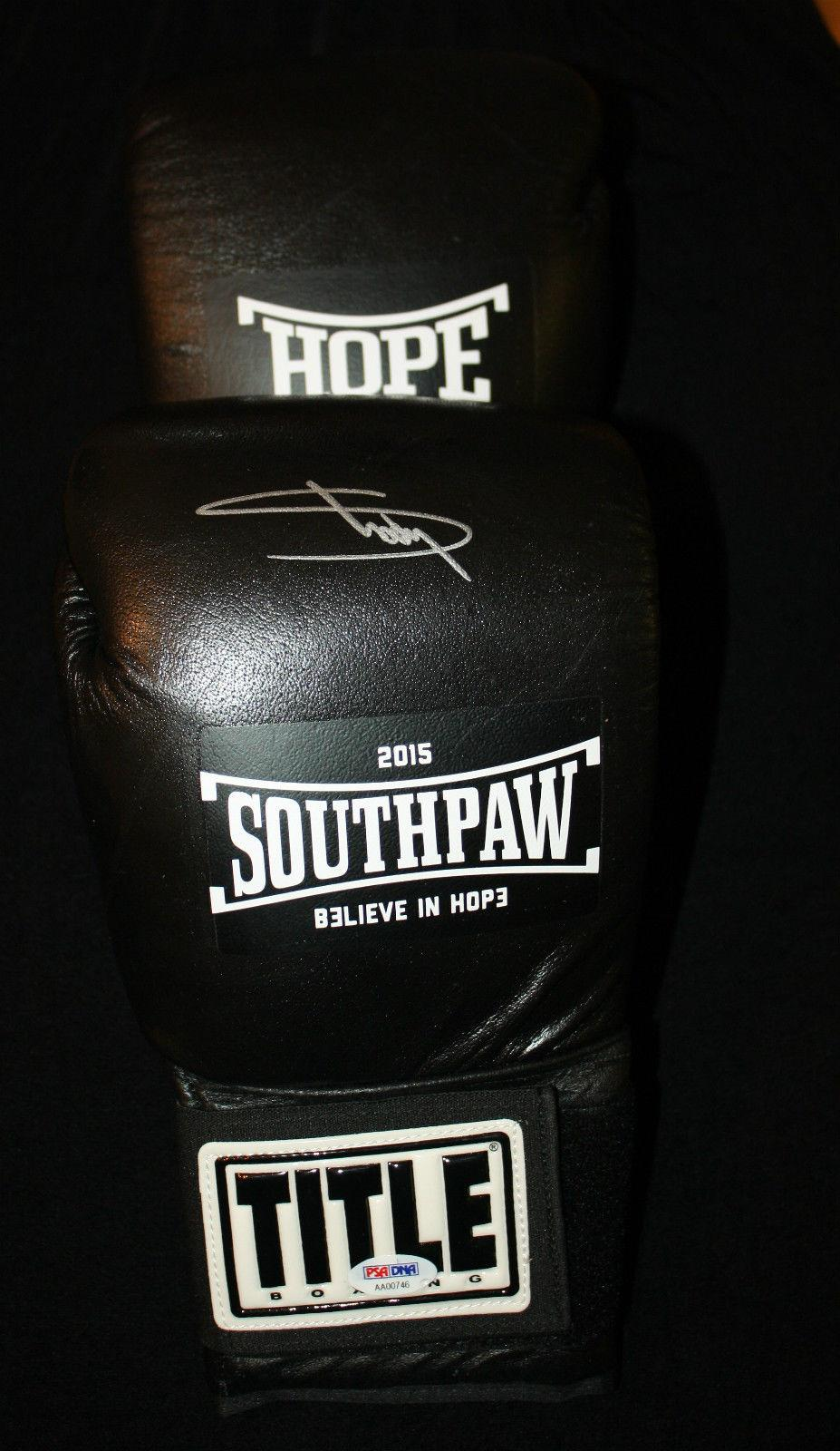 Eminem signed Offical Southpaw boxing glove, Marshall Mathers, Encore, PSA/DNA
