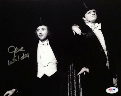 Professional Sale Gildna Radner & Gene Wilder Signed Program Coa Jsa Cards & Papers Entertainment Memorabilia
