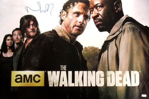 Norman Reedus Signed The Walking Dead Season Six Full Size Poster