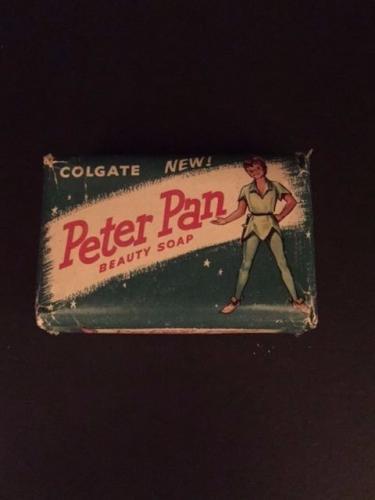 "1953, Walt Disney, ""Peter Pan"", ""Un-Opened"" Soap Bar (Scarce / Vintage)"