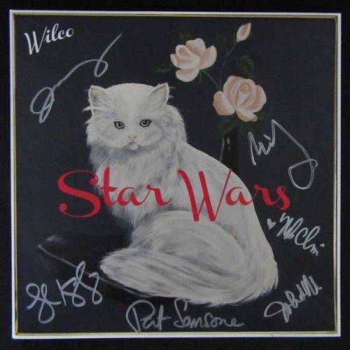 Wilco Memorabilia Autographed Albums Amp Signed Instruments