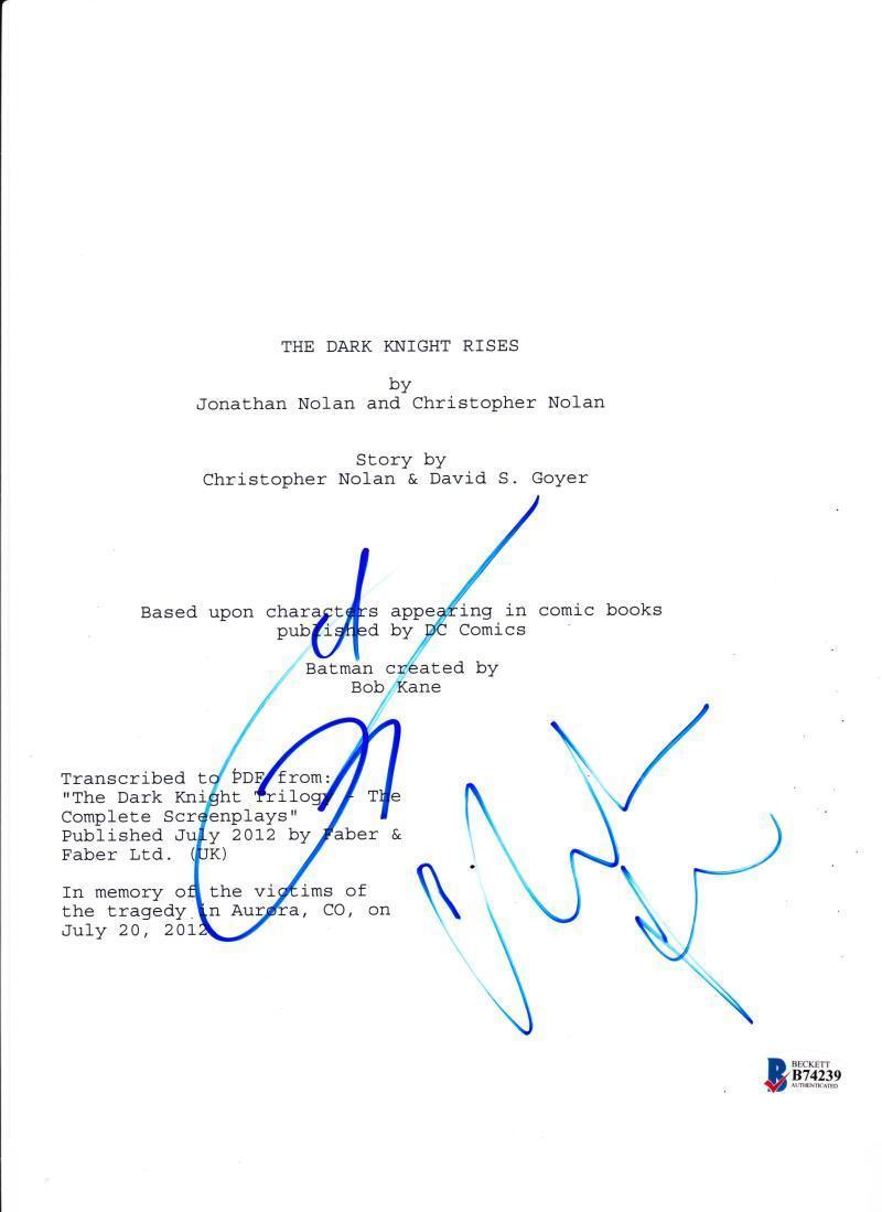 Dark Knight Rises Script Pdf