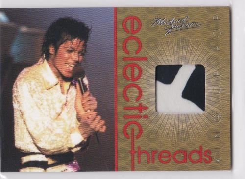 2011 Panini Michael Jackson Electric Threads Worn Used 1971 Boyd Clapton Sp Et1