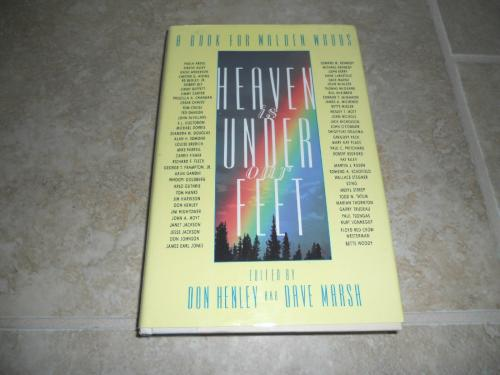 Don Henley The Eagles Heaven Under Feet Signed Autographed Book PSA Certified
