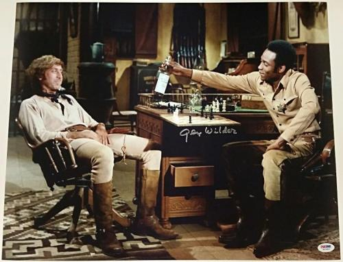Coa Jsa Professional Sale Gildna Radner & Gene Wilder Signed Program Autographs-original Movies