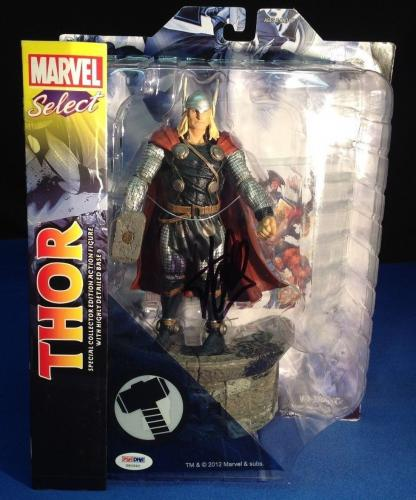 Stan Lee signed Marvel Select Thor Figure PSA/DNA  #X60582
