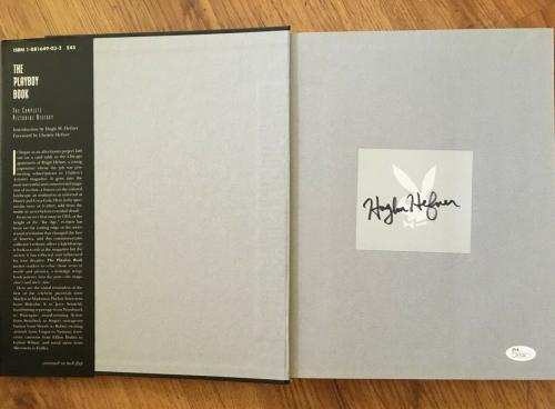 Hugh Hefner signed auto autographed Playboy Book 40 Years Pictorial History JSA
