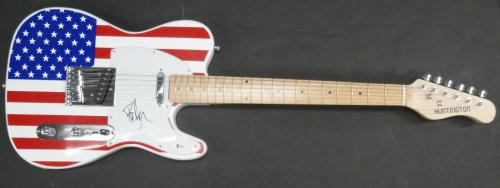 Billie Joe Armstrong Hand Signed Autographed Guitar Green Day Beckett F58374